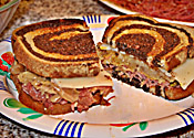 Crock-pot Reuben Sandwich