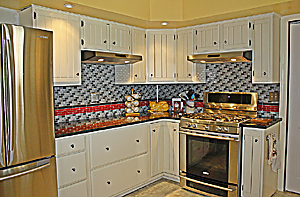 Remodeled kitchen- left