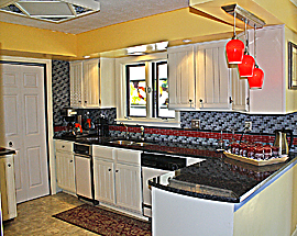 Remodeled kitchen- right